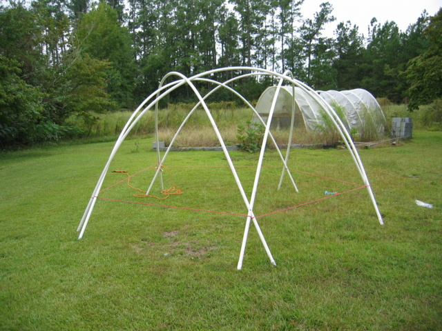 PVC Geodesic Dome Greenhouse